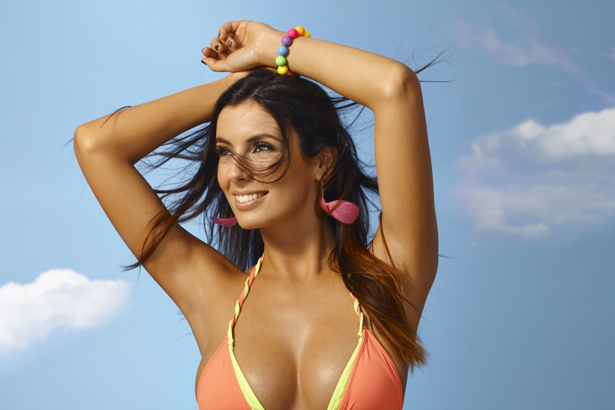What does breast augmentation in South Florida involve?